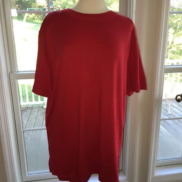 df9875fea14 Westbound Women2X red shirt NWT